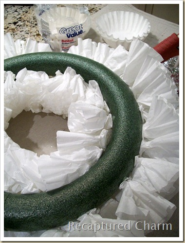 Coffee Filter Wreath 011a