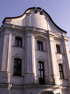 fasada Pałacu Biskupiego
