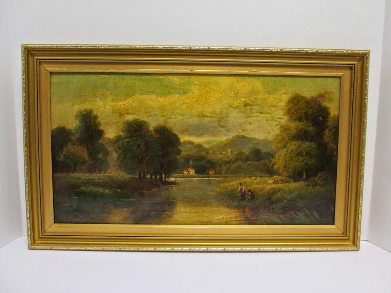 J. Morris Signed Landscape 1