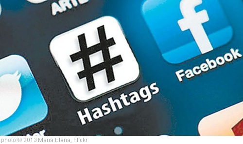 'hashtags on FB' photo (c) 2013, Maria Elena - license: http://creativecommons.org/licenses/by/2.0/