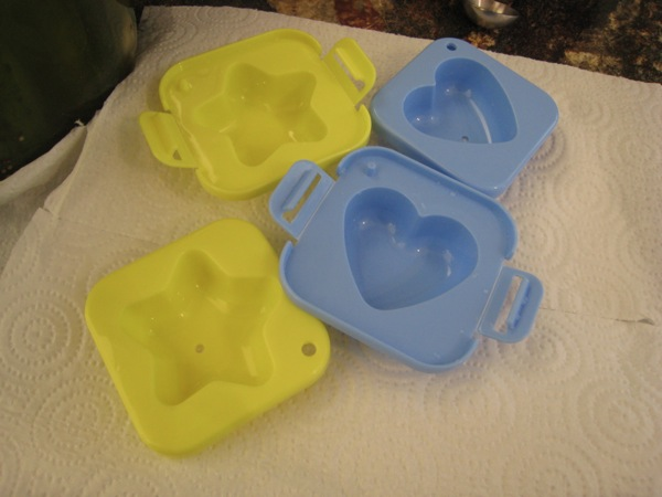 Egg molds for hard boiled eggs bento box