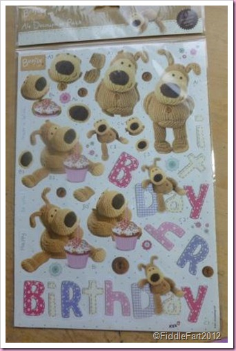 Docrafts Boofle Decoupage Pack