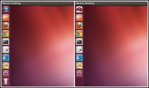 sostituire il logo Ubuntu dal Launcher