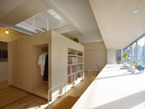 decoracion-house-en-megurohoncho-de-torafu-architects