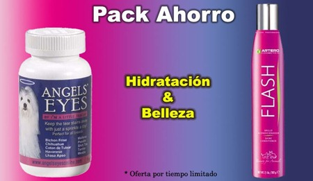 pack artero flash y angels eyes