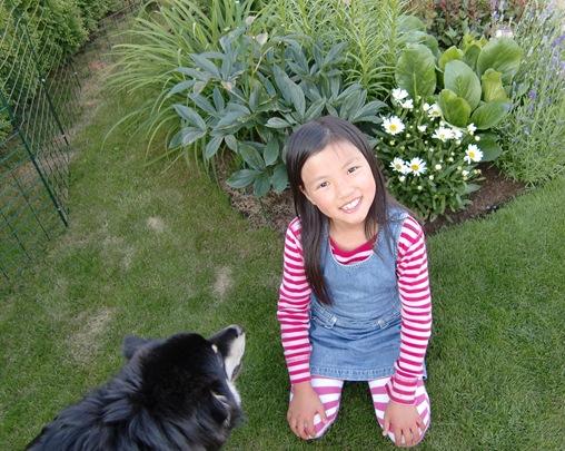 Kira på besøk -11.07.11011
