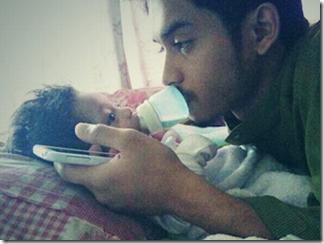 Lagi gambar Ahmad Fakharuddin Attar, bayi lelaki Aeril Zafrel