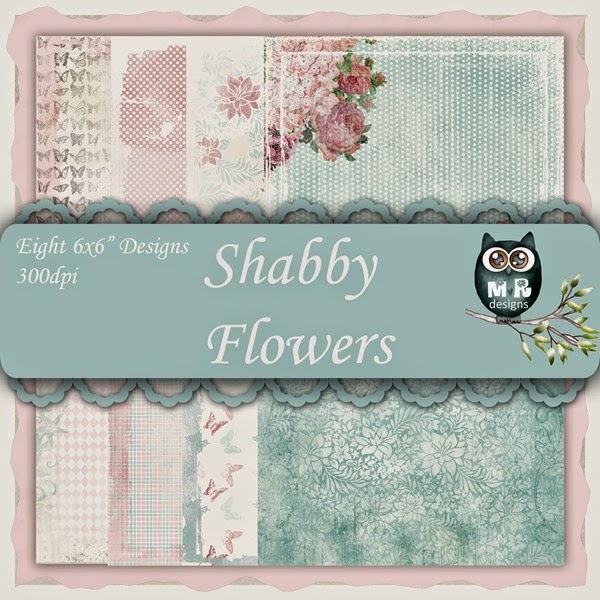 Shabby Flowers Front Sheet