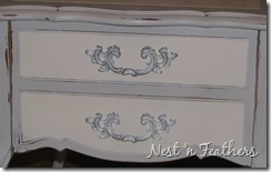 08 Grey white provincial table HANDLES 2