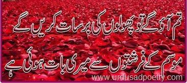 Tum aao ge to phoolon ki barsat karain ge urdu sad poetry phool farishta thecheapjerseys Gallery