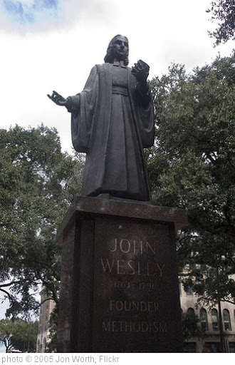 'John Wesley Monument, Reynolds Square, Savannah, GA' photo (c) 2005, Jon Worth - license: http://creativecommons.org/licenses/by-sa/2.0/