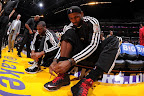 lebron james nba 130117 mia at lal 02 Boston Outlasts Miami in 2nd OT. LeBron Debuts Suede X PE!