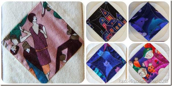 Cte fabrics in Jos flower quilt