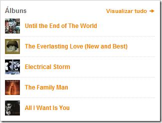 Visualizar todos os álbuns