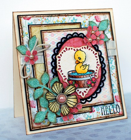 Hello duck