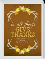 Elegance and Enchantment - In all things give thanks