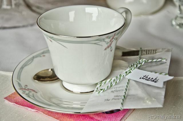 Tea Inspired Party Favour | personallyandrea.com