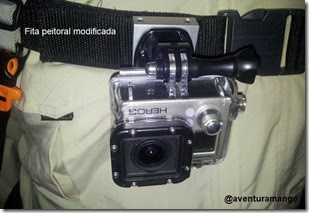 Montagem peitoral GoPro 1
