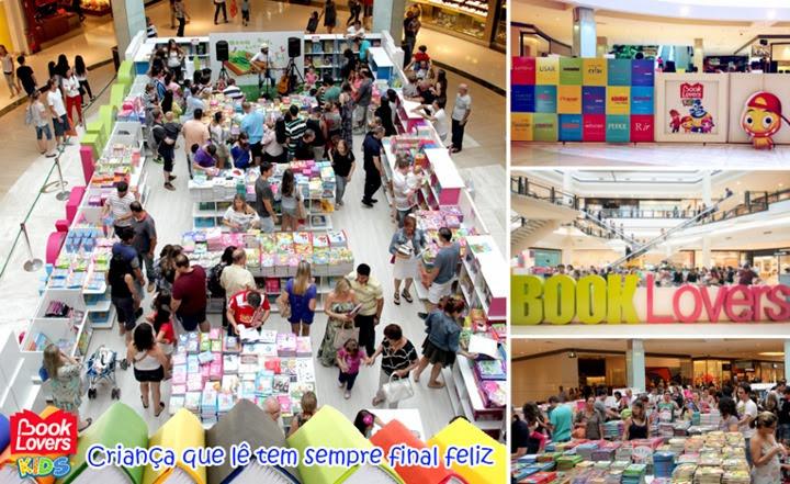 feira livro park shopping barigui curitiba book lovers