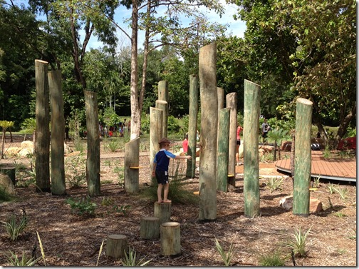 tree maze at Howard Springs