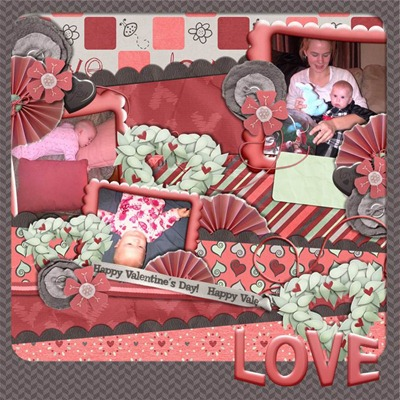 Mommy Me Time Scrapper - Love Is - Love1