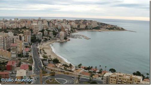 Panorámica de la Albufereta desde la Serra Grossa - Alicante