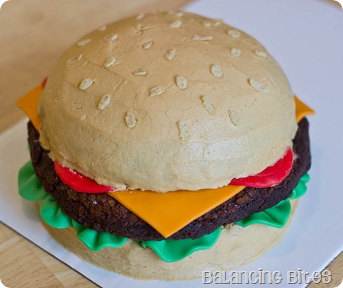 Father's Day Cheeseburger Cake (21 of 23)