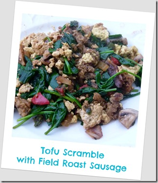 poloroid tofu scramble