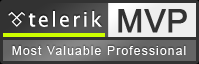 Telerik MVP (Most Valuable Professional)