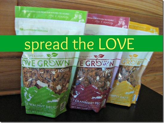 Love Grown Granola Giveaway