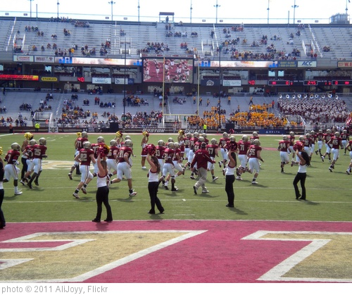 'The Players Come Running onto the Field' photo (c) 2011, AliJoyy - license: http://creativecommons.org/licenses/by/2.0/