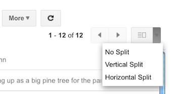 3 columnas en Gmail