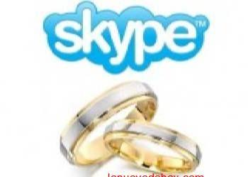 Primera boda via Skype