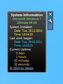 System Uptime Full
