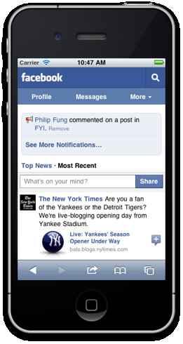 Facebook movil