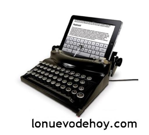 Ipad maquina de escribir