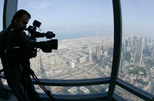 Burj Dubai now Burj Khalifa - Opening ceremony