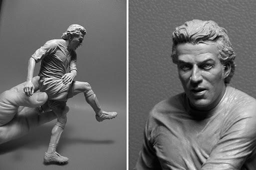 Alessandro%20Del%20Piero Sculptures by Adam Beane
