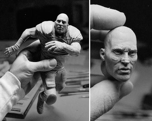 Brian%20Urlacher Sculptures by Adam Beane