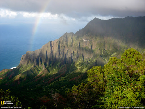 N%C4%81 Pali Coast Hawaii Beautiful Landscape Photos
