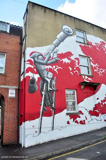 10risunki Bristol Graffiti Street Art