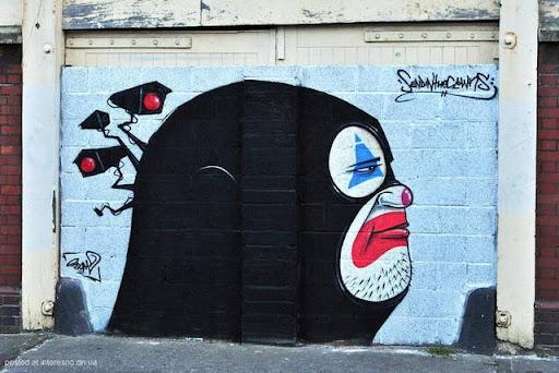 12risunki Bristol Graffiti Street Art