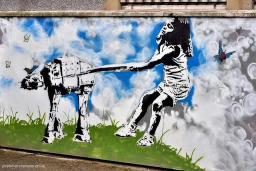 16risunki Bristol Graffiti Street Art