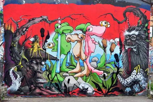 7risunki Bristol Graffiti Street Art