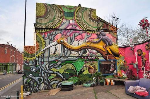 8risunki Bristol Graffiti Street Art