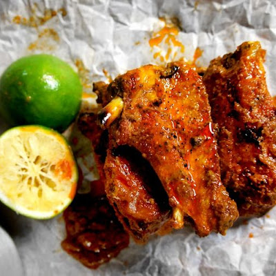 Red Curry Chicken Wings