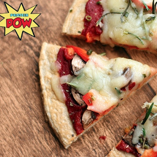 Four Ingredient Protein Pizza Crust
