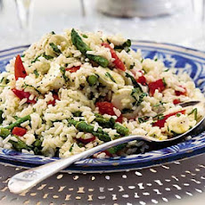 Minty Summer Rice Salad