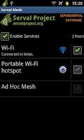 Screenshot of The Serval Mesh