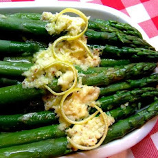 Asparagus With Lemon and Parmesan Butter